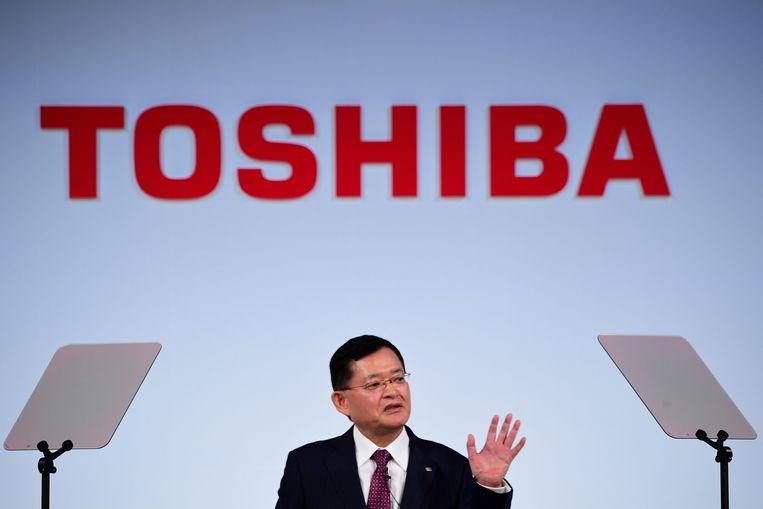 Nobuaki Kurumatani, CEO van Toshiba.