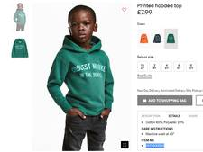 Ouders H&M-modelletje verhuizen na ophef om trui