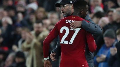 """Een """"legende"""" die blijft charmeren: Origi is de knuffelsupersub van Liverpool"""