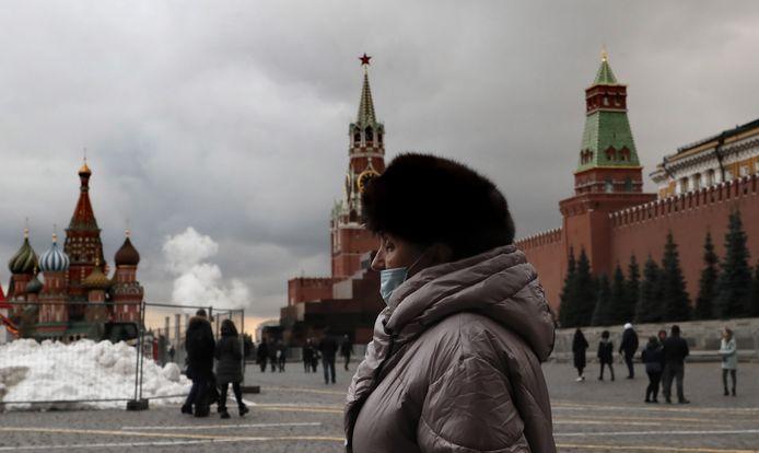La place Rouge à Moscou, ce mercredi 25 novembre.