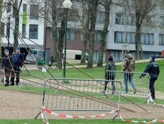 Politie moet honderdtal mensen uiteendrijven in Maximiliaanpark