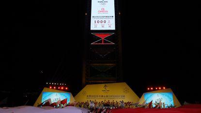 Peking start aftelklok (van duizend vierkante meter) richting Winterspelen