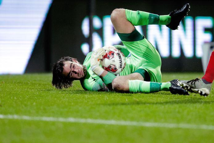 """FC Eindhoven-doelman Ruud Swinkels. ,,Ik miste lef bij ons."""""""