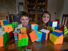 Rick en Lilian uit Kampen halen met 'kubusmarathon'  1500 euro op voor onderzoek naar kinderkanker