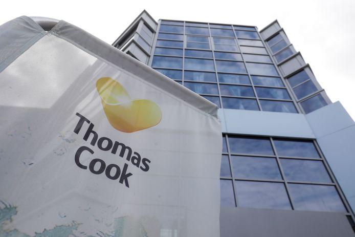 Le siège social de Thomas Cook/Neckermann à Zwijnaarde, dans la banlieue de Gand.
