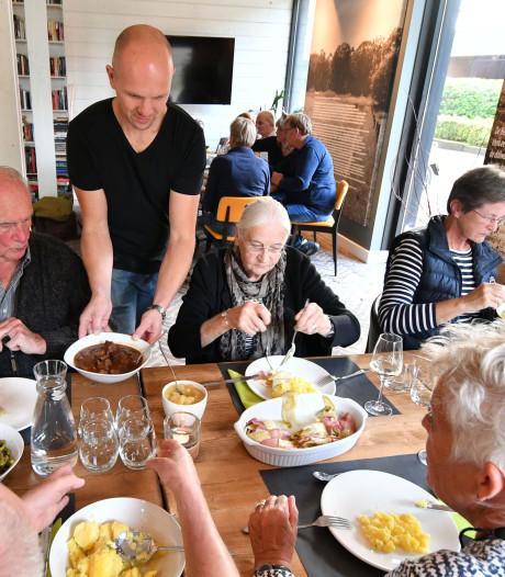 Eten wat de pot schaft bij Hoeve Springendal in Hezingen