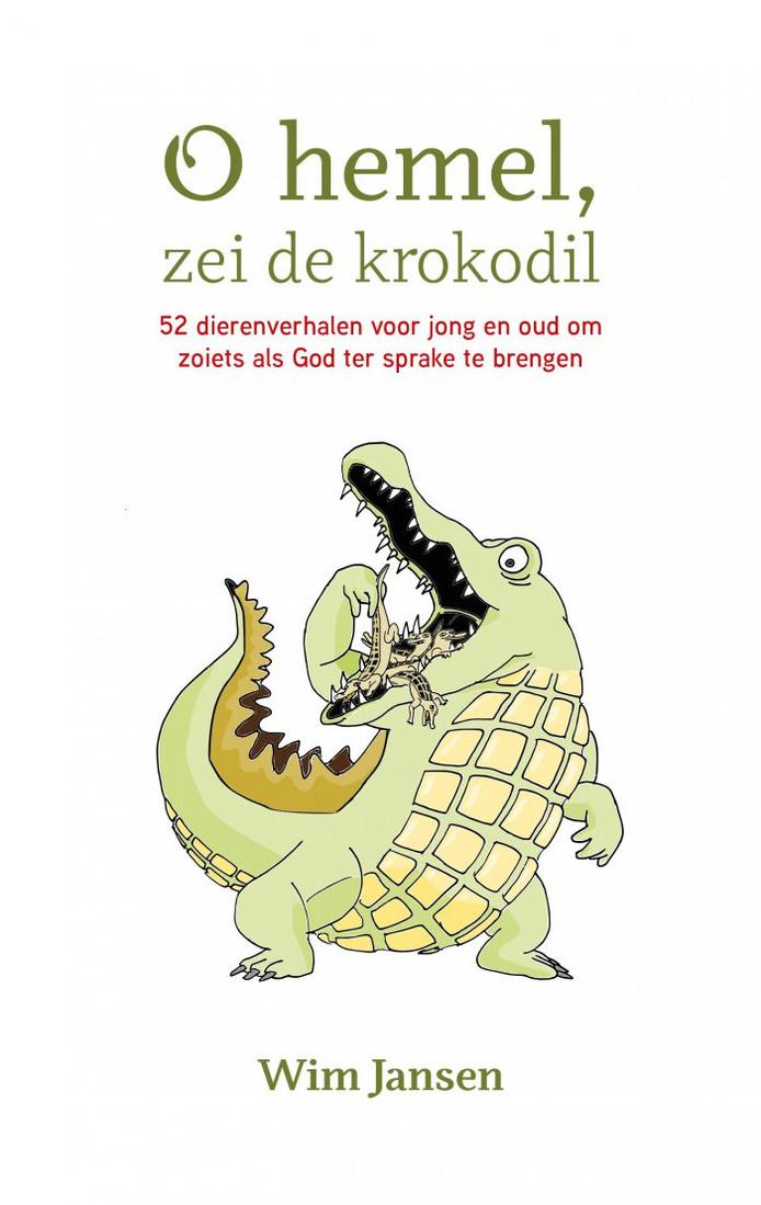Cover van het boek 'O hemel, zei de krokodil'.