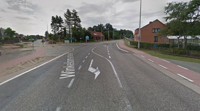 Het kruispunt van Tessenderloseweg met Winkelom wordt anderhalve maand afgesloten.