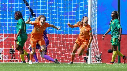 WK vrouwenvoetbal. Nederland zonder te overtuigen door, ook Canada verovert ticket voor knock-outfase