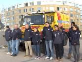 Kippenvel: redders KNRM leggen bloemen voor Joost, Sander, Pim, Max en Mathijs