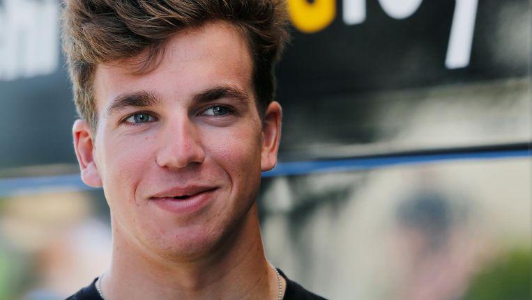 Sprinter Dylan Groenewegen van team Lotto-Jumbo. Beeld ANP