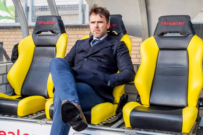 Dennis Haar, de nieuwe coach van Jong PSV.