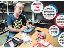 Arriva bezorgt meer gevonden voorwerpen terug