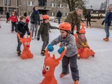 Dit jaar toch geen ijsbaan in Malden
