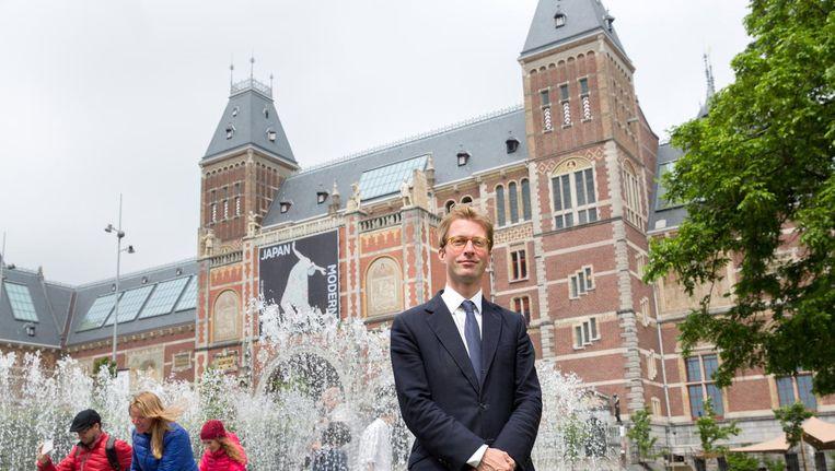 Taco Dibbits brengt het Nederlands nationalisme in de late negentiende eeuw - de tijd waarin ook zijn museum werd gebouwd - in verband met de afscheiding van België. Beeld ANP
