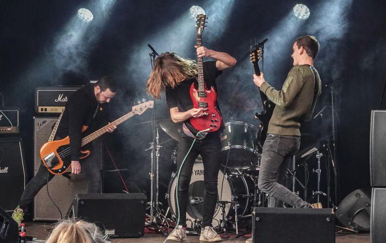 Het Kortrijkse Divided speelde maandag op het Tranzit-podium