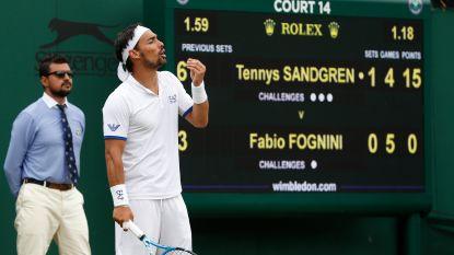 """Italiaanse 'bad boy' zwaar uit de bocht op Wimbledon: """"Er zou hier een bom moeten ontploffen"""""""