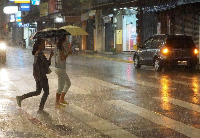 Tyfoon Lekima bereikte onder meer Taiwan.
