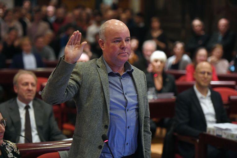 Voor Johan Geleyns (CD&V) zou een schepenambt in Leuven de kers op zijn politieke taart zijn.