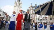 Nu al het huwelijk van het jaar in Halle? Reuzen Romeo en Juliette trouwen zondag in de Sint-Martinusbasiliek (en de Hallenaren vieren mee)