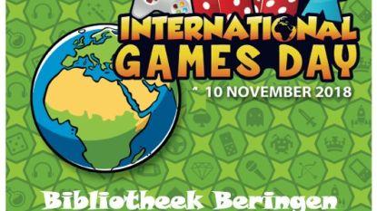International Games Day in bib