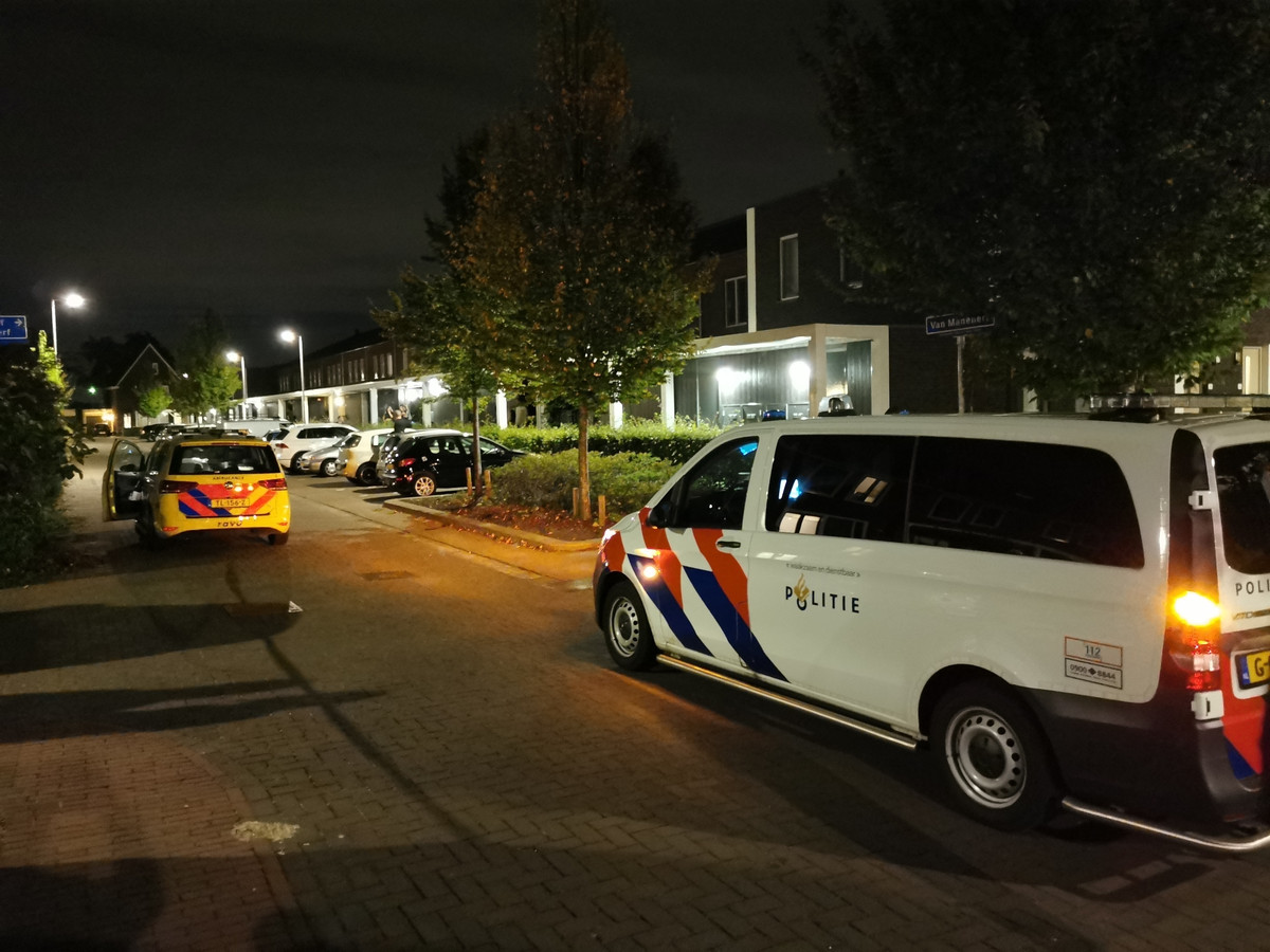 Hulpdiensten zijn ter plaatse in Veenendaal.