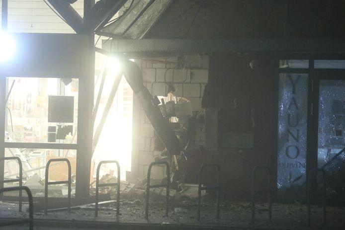 De schade in Westervoort na de plofkraak