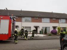 Cv-ketel vliegt in brand in woning in Drunen, straat afgezet