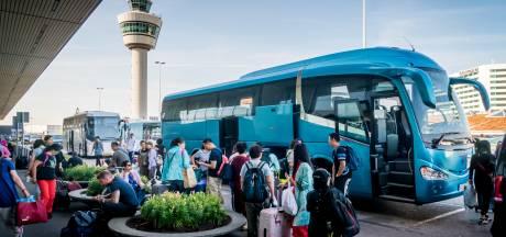 Ook hotelbussen van en naar Schiphol worden elektrisch