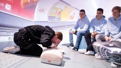 Les reanimatie en defibrillatie op Atlas