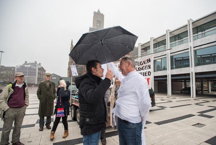 Eerdere demonstratie van Pegida in Arnhem.