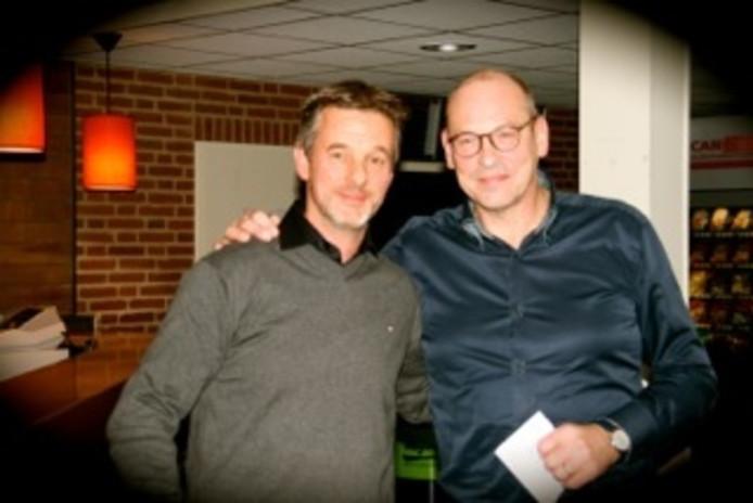 Lorenz Kok (links) en Ben Kattenbeld
