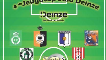 Jonge voetballers strijden om vierde Jeugdcup stad Deinze