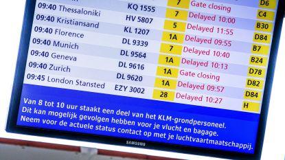 Stakingen bij KLM kostten enkele miljoenen euro's