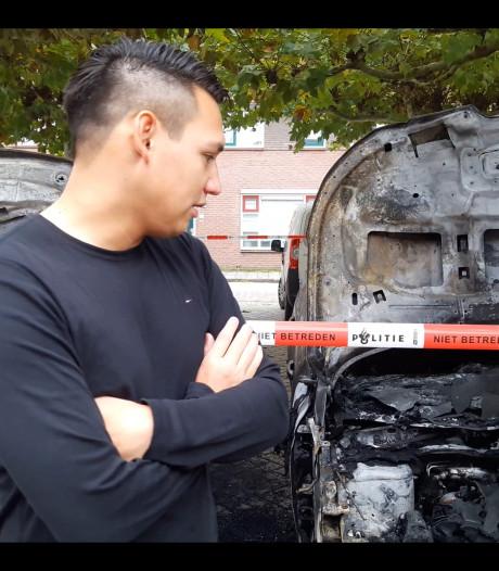Eigenaar vannacht in Deventer uitgebrande auto: 'Je staat volkomen machteloos'