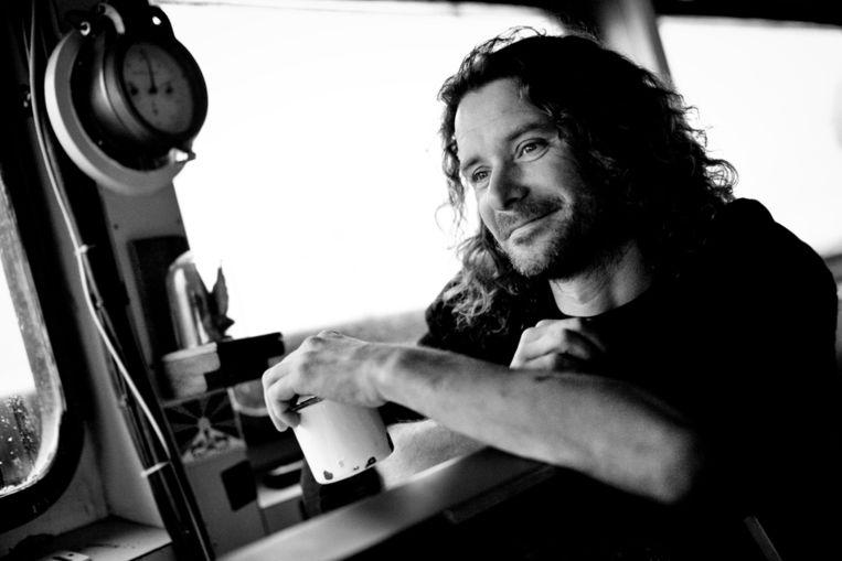 Erwin Vermeulen op een foto van dierenrechtenorganisatie Sea Shepherd. Beeld anp