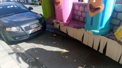 Praalwagen carnavalvereniging Orde van de Mamboetjes betrokken bij ongeval