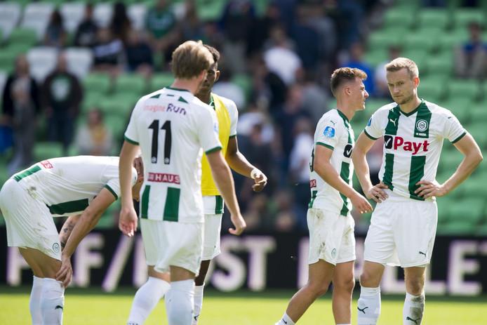 Ook FC Groningen staat in de degradatiezone.