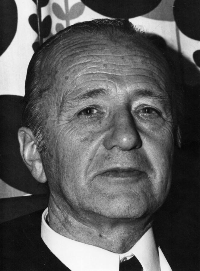 Albert Luermans op 61-jarige leeftijd.