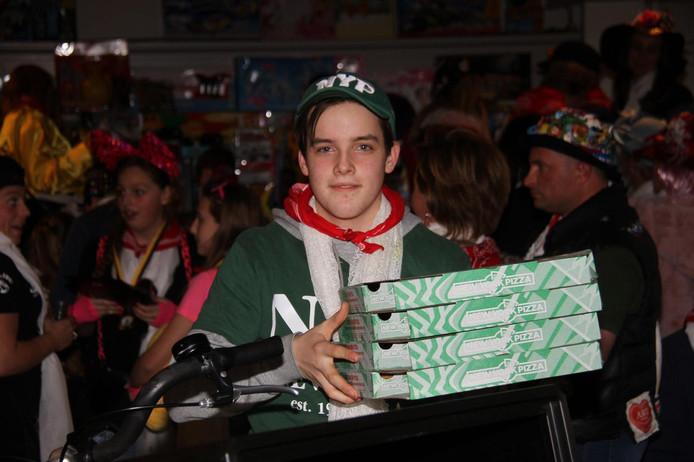 Pizzabezorger Twan is er nuchter onder na te zijn overvallen in Bergen op Zoom