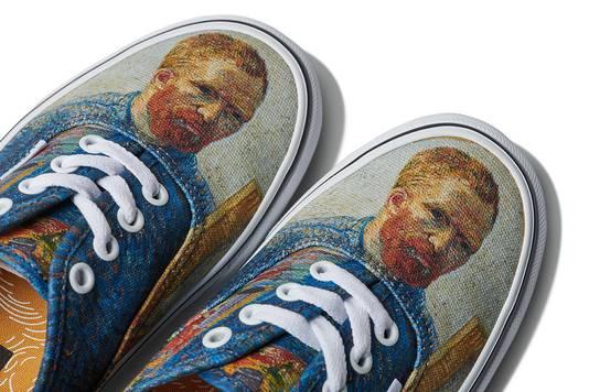 vans schoenen van gogh