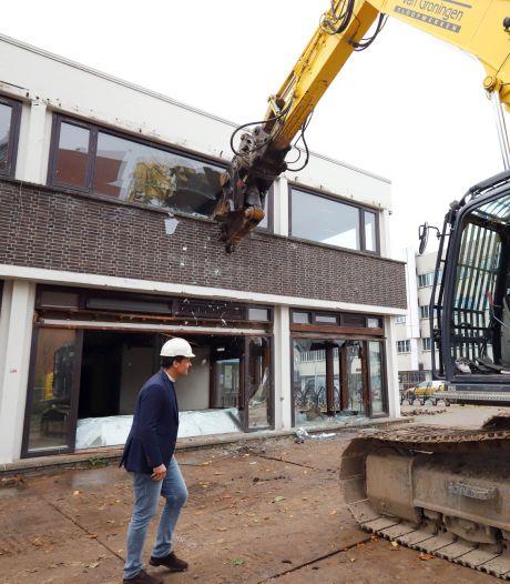 Sloop van voormalig postkantoor in Spijkenisse begonnen