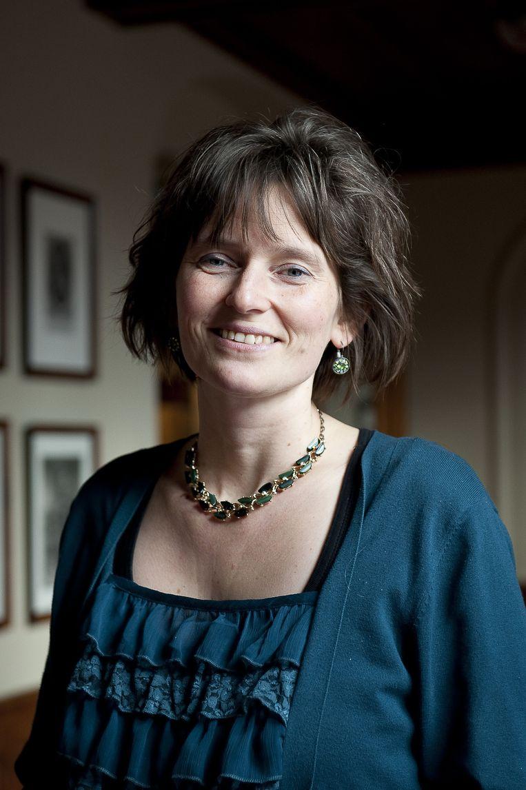 Simone Kennedy is fractievoorzitter ChristenUnie Amersfoort. Beeld null