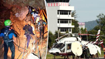Duikploeg neemt opnieuw rustpauze na redding vier kinderen uit Thaise grot