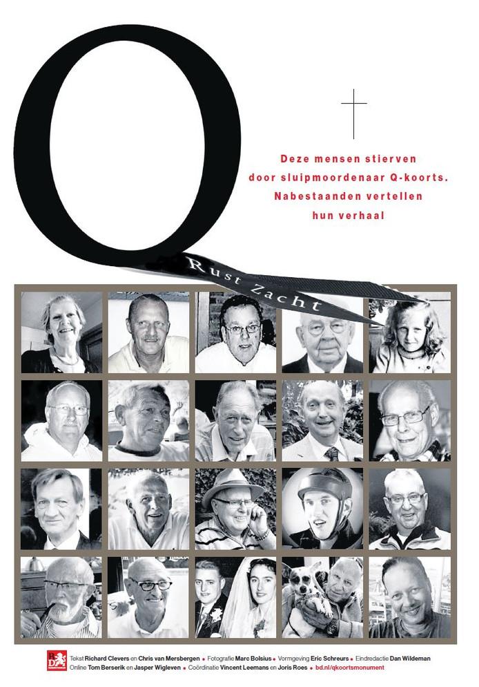 Donderdag 22 juni verschijnt er een speciale bijlage over de nabestaanden van Q-koorts.
