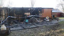 Alleenstaande vrouw komt om het leven bij brand in chalet