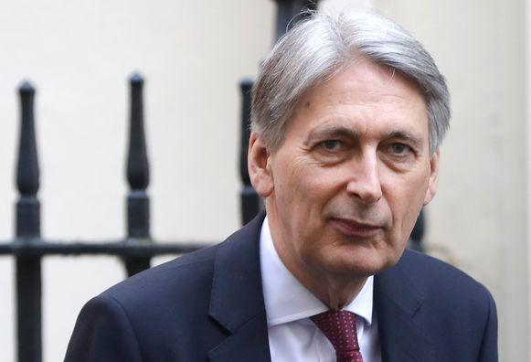 """Een brexit zonder akkoord zou """"een verraad"""" zijn van het resultaat van het referendum van 2016, schrijft voormalig minister van Financiën Philip Hammond in een opiniestuk."""