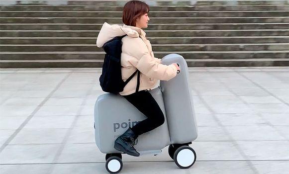 De elektrische scooter die in je rugzak past: Poimo