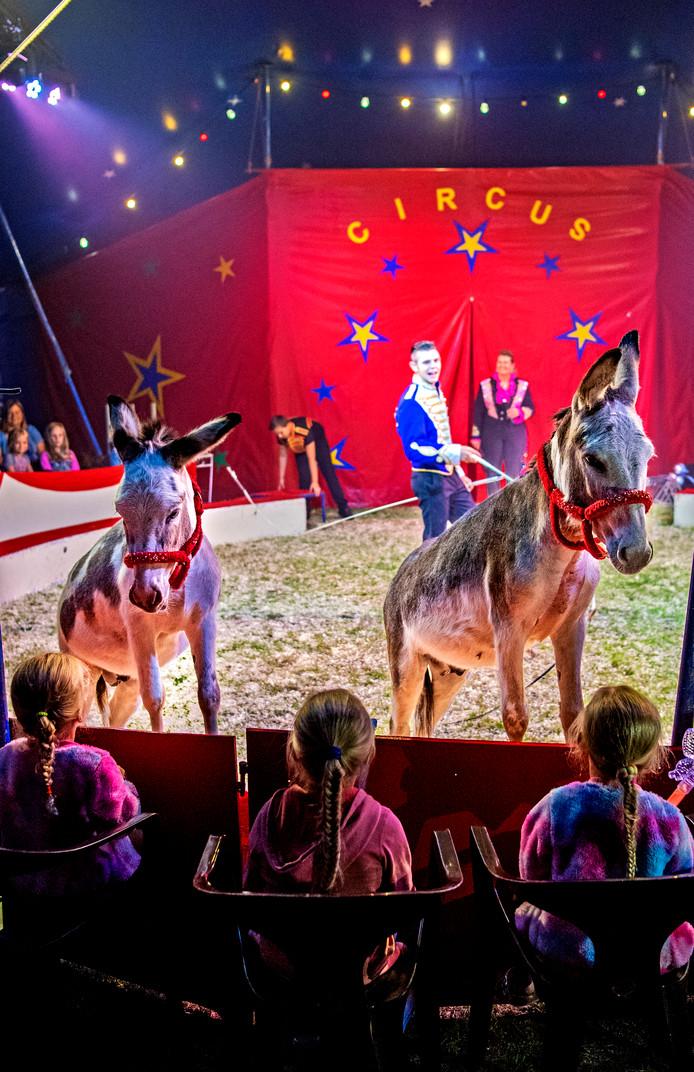 Het circus staat vandaag in Nieuwveen. Foto: Frank de Roo