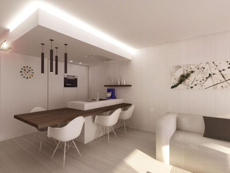 Werk met wittinten en lichte kleuren in je interieur en voor je wanden en vloeren